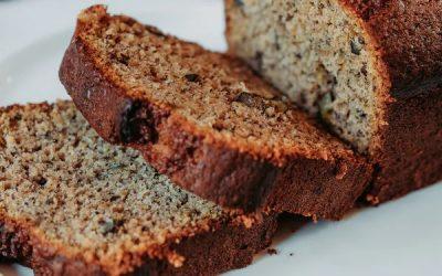 Gluten Free Cinnamon-Banana Bread with Crickets